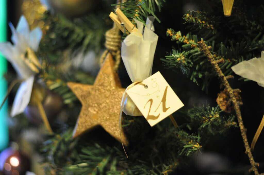 クリスマスツリーのチョコ