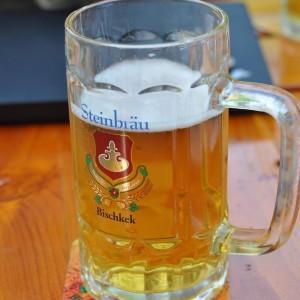 本格的なドイツ料理店で自家醸造してるビール