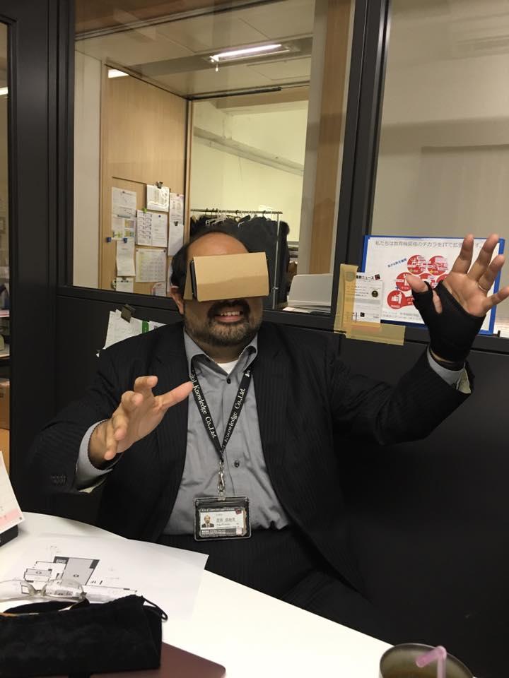 VRお試しの図