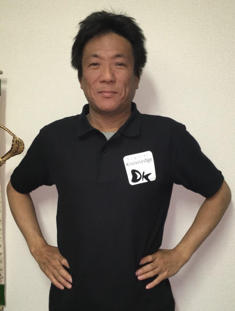 DKポロシャツイメージ(代表取締役社長:はが)