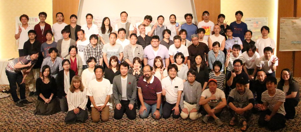 合宿参加者で記念撮影