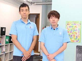 合同会社ZIG-ZAC 代表社員 橋本 直之 様(右) 業務執行社員 春川 拓也 様(左)